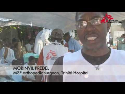 MSF Works to Save Lives After Haiti Earthquake
