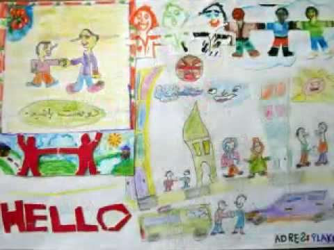 Peace & Friendship Drawings - Children of Iran (Extended)