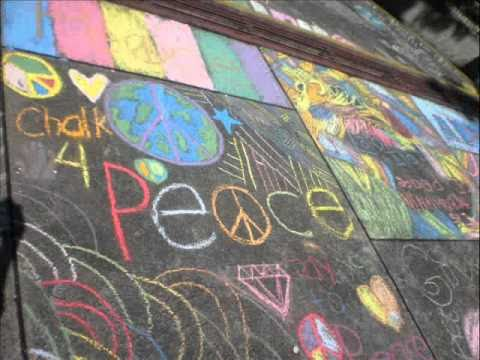 Chalk 4 Peace at St. Bridget School Quezon City