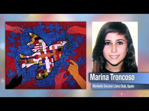Children's International Peace Poster Contest 2010-11