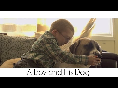 Boy With A Rare Muscle Condition Forms A Special Bond With His 3-Legged Dog