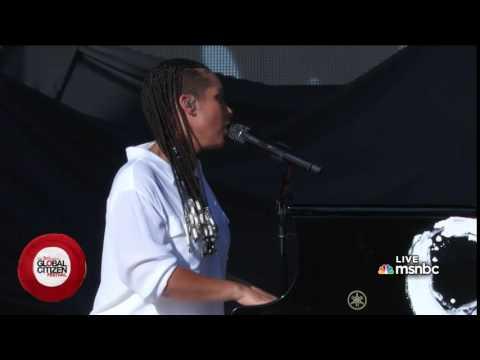 Alicia Keys, Idan Raichel (Israeli), Ali Amir-Kanoon (Palestinian)  - We Are Here