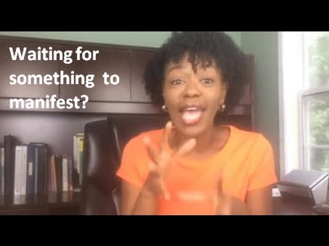 What to do while waiting for a manifestation (Middle Chapter)    AllisonPhillips.TV