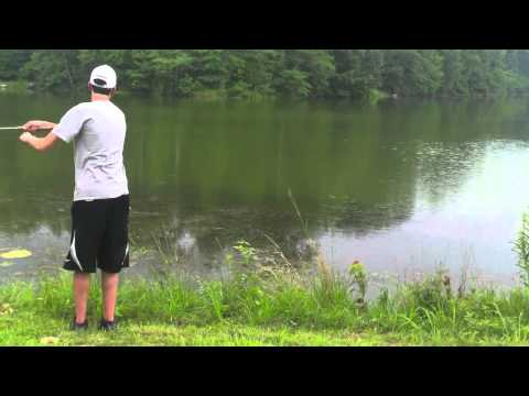 Fly and Bobber Bluegill Fishing