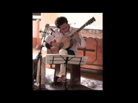 """The Sabionari Stradivarius guitar (1679) - Recording  """"De Visée: Pieces pour la guittarre"""""""