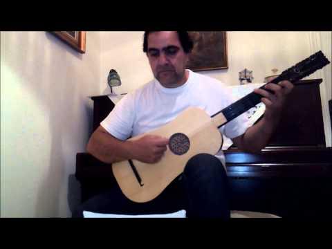 Gaspar Sanz - Espanoletas - Baroque Guitar