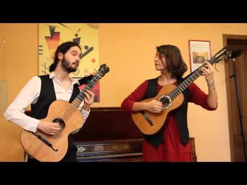 Mauro Giuliani - La Lira Notturna op. 69 n.7 - Duo Arata-Savigni