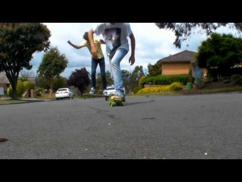 Melbourne Longboardoing Cruising HD