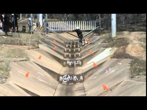 2015 March Canberra Ainslie ditch slalom