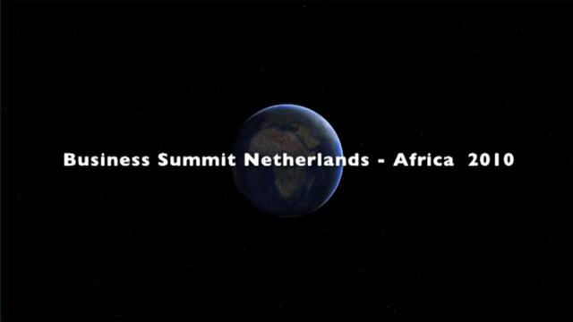 Business Summit Netherlands - Africa 2010