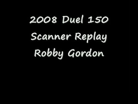 2008 Daytona Duels Scanner Replay