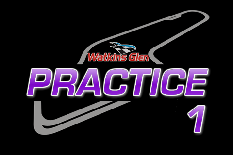 Nationwide Practice 1 from Watkins Glen