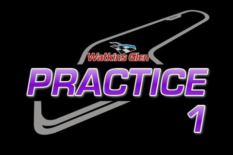 Nationwide Practice 1 from Watkins Glen
