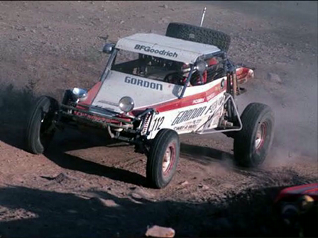 Robby Gordon Kicks a Little