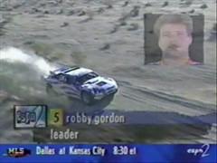 Robby Gordon At Barstow