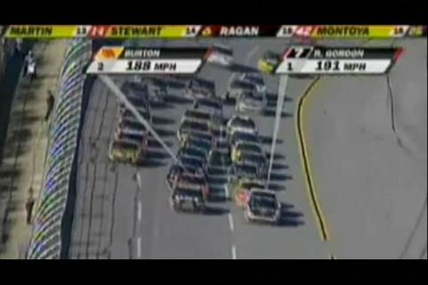 Flash Back: Robby Leads at Talladega