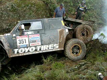2010 Dakar Stage 2 Baldwin Wreck