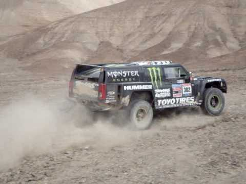 2010 Dakar Stage 6 Robby Gordon Dusting