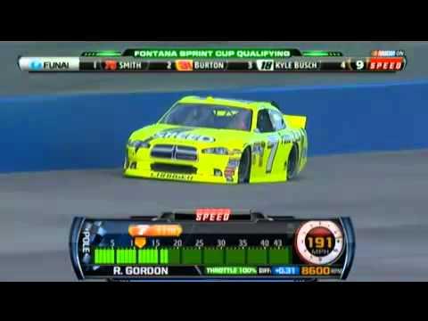 Auto Club Speedway Qualifying