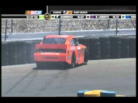 2011 Infineon Gordon vs Logano
