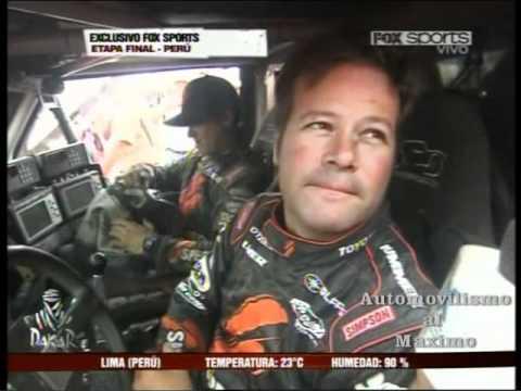 2012 Dakar Stage 14 Interview