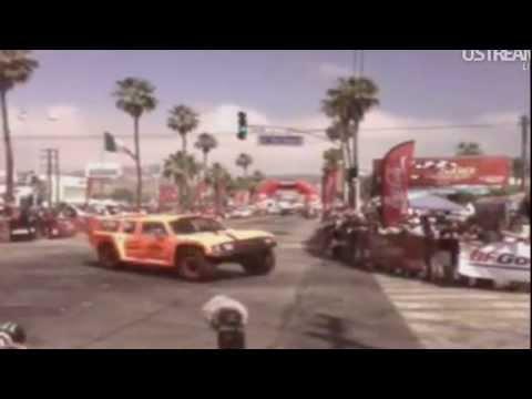 Robby Gordon Hummer 2012 Baja 500 Start