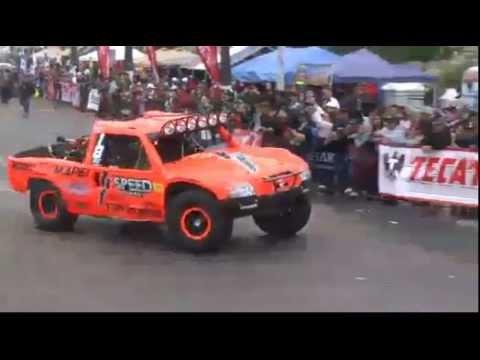Juan Lopez Robby Gordon 2012 Baja 1000 Start