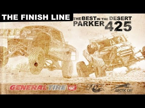 2013 Parker 425 Finish