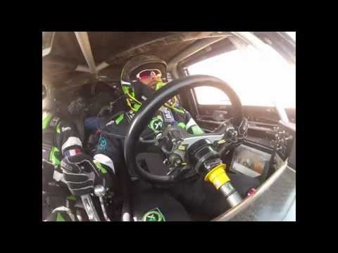 2013 Yazeed Accident in Hail Rally
