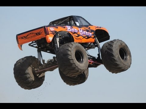 The Official Bad Habit World Record Monster Truck Jump