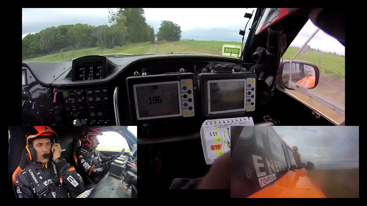 2015 Dakar Rally Stage 13 Win - Full In-Car - #TeamSPEED