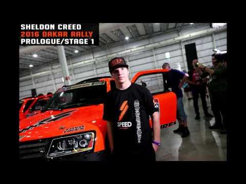 2016 Dakar Sheldon Creed Prologue/Stage 1 Audio