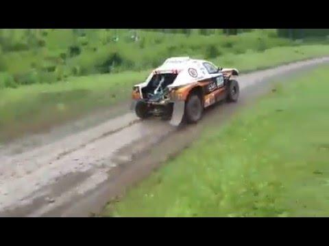 #Dakar2016 watercrossing various cars