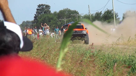 Robby Gordon, action at Prologue, Arrecifes