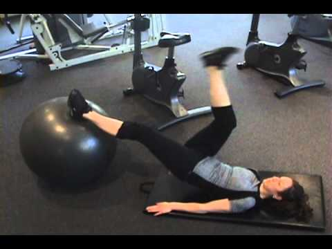 ADVANCED STABILITY BALL CORE EXERCISES