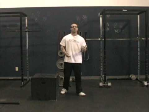 Vertical Jump Training : Drop Jumps