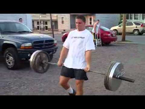 Matt Hasti 455 Deadlift Walks.WMV