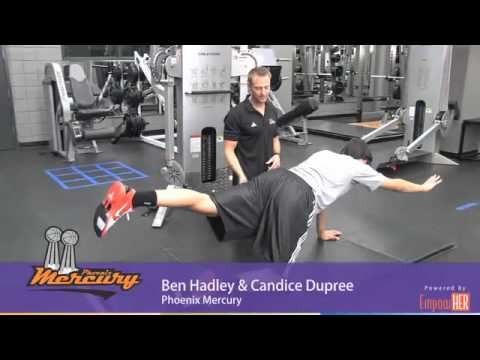 Phoenix Mercury - Three Core Strengthening Exercises