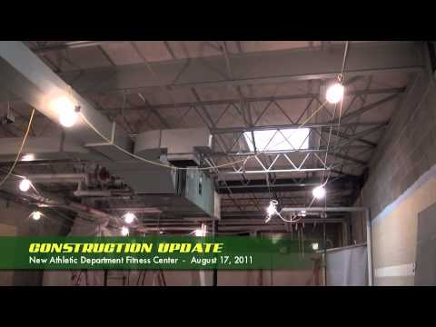 Le Moyne College Strength & Conditioning Center Construction Update