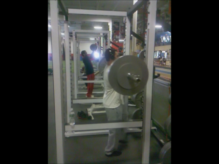 275 Front Squat for 1