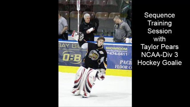 Hockey Goaltender Sequence Training