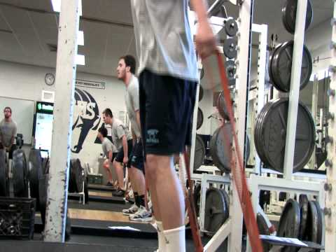 Rhode Island Football Strength and Conditioning