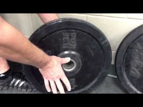 Bumper Plate Review of VTX-look before you buy!!