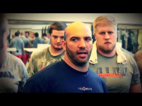 2013 Fighting Illini Football Strength and Conditioning