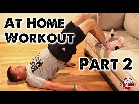 At Home Workout for Basketball (Part 2)