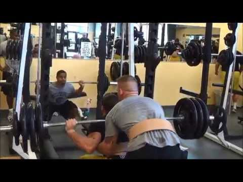 Millersville Football Winter Strength and Conditioning 2014