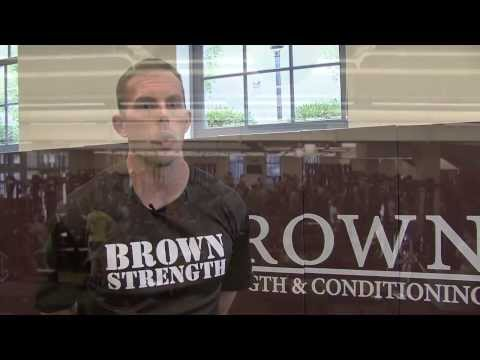 Brown University: Inside the Zucconi Strength and Conditioning Center