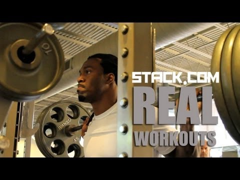 Real Workout:  Steven Jackson