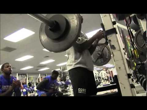 2014 Central CT State University Summer Football Training