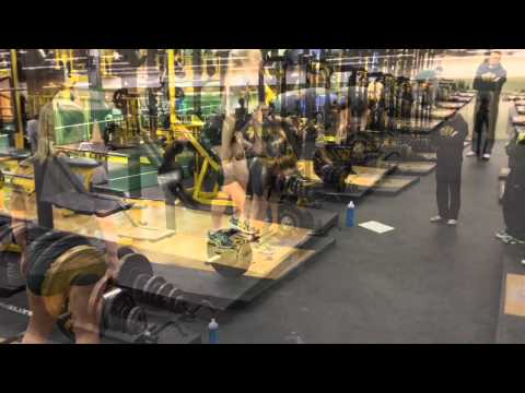 NDSU Women's Volleyball Offseason Workout